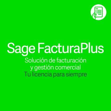 Pack Ahorro Sage FacturaPlus Profesional Servicio Avanzado