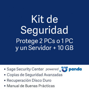 Kit de Seguridad (para 1 PC + 2 GB)